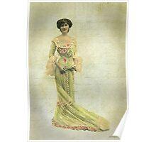 Vintage Fashion 2 Poster