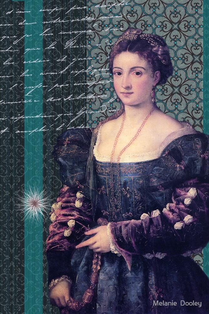 Lady in Blue by Melanie  Dooley