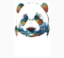 Colorful Panda Bear Art By Sharon Cummings Kids Clothes