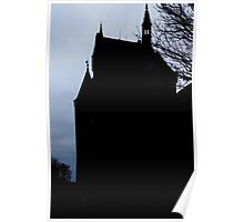 Burg Hohenzollern Castle, South Germany Poster