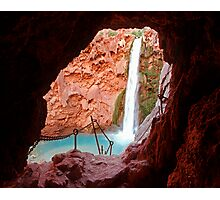 Moony Falls Tunnel Photographic Print