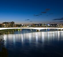 Captain Cook Bridge - Brisbane by Steve Grunberger