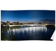 Captain Cook Bridge - Brisbane Poster