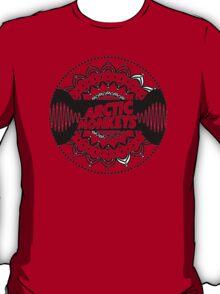 Arctic Monkeys Mandala Circle Print T-Shirt
