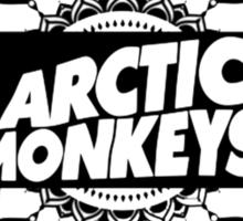 Arctic Monkeys Mandala Circle Print Sticker