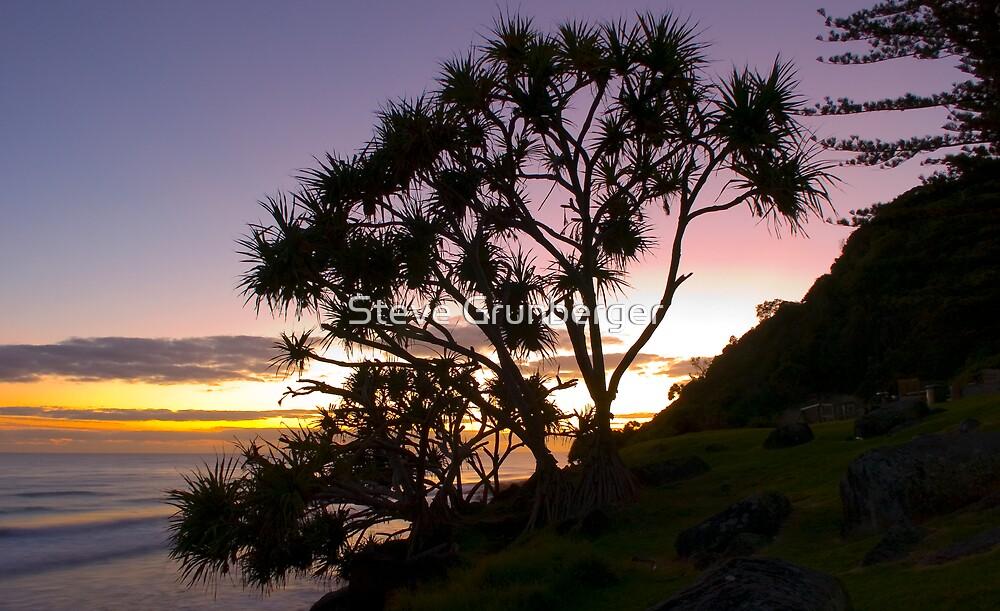 Burleigh Point at Sunrise by Steve Grunberger