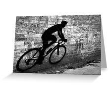 Shadow Racer Greeting Card
