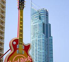Hard Rock - Gold Coast by Steve Grunberger