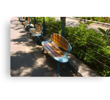 Surfboard Seats - Surfers Paradise Canvas Print