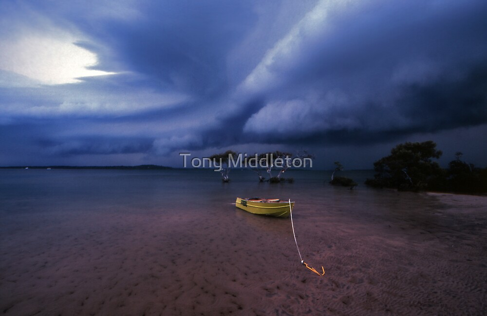 safe anchorage by Tony Middleton