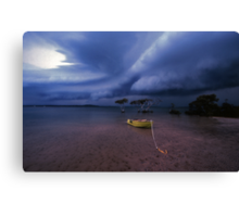 safe anchorage Canvas Print