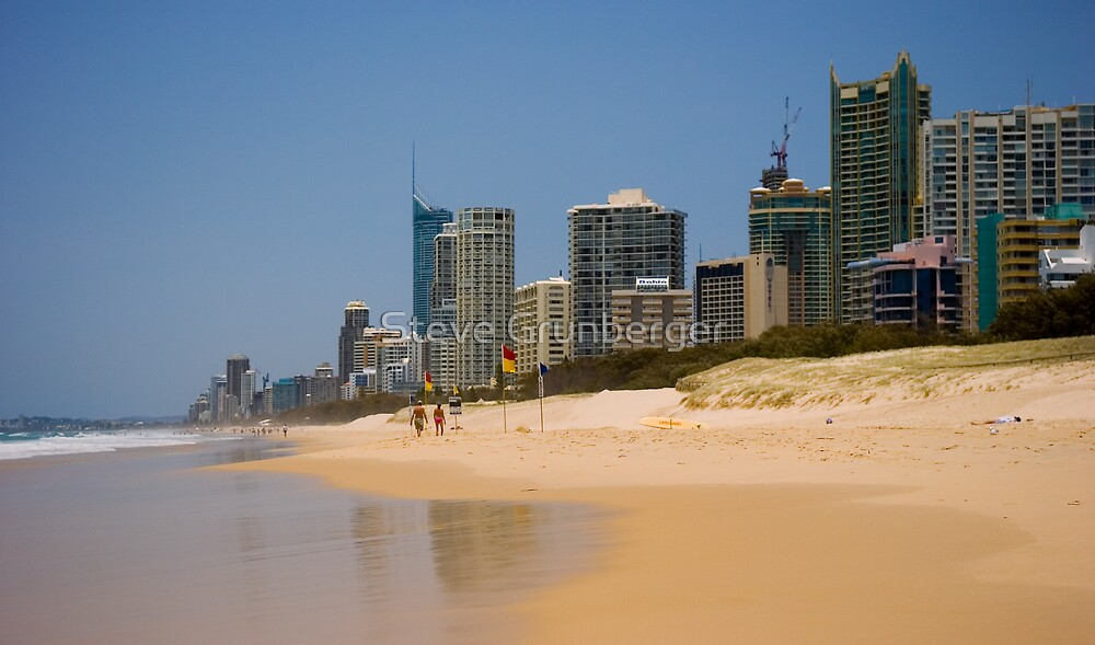 Surfers Paradise from Main Beach by Steve Grunberger