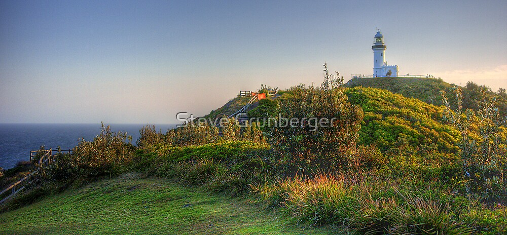 Byron Bay Lighthouse HDR by Steve Grunberger