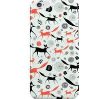 texture of foxes iPhone Case/Skin