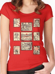 Doodle Nightmares Women's Fitted Scoop T-Shirt