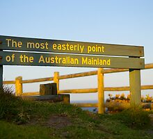 Byron Bay - Most Easterly Point by Steve Grunberger