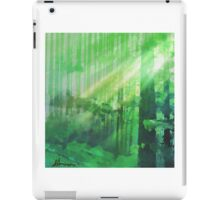 Forest Rays iPad Case/Skin