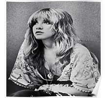 Stevie Nicks The White Witch Vintage Tee Poster