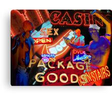 Package Goods Canvas Print