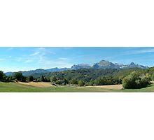Panorama from Giucugnano Photographic Print