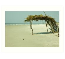 Little Tybee Island Art Print