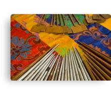 Tools For The Mandala Canvas Print