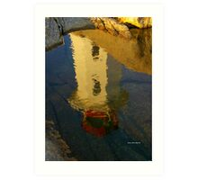 A Reflection on a Clear Day.... Art Print