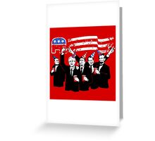 Republican Party Greeting Card