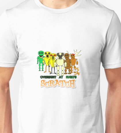 Overnight at Hugo's - Scratch Hororr Game Unisex T-Shirt