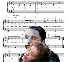 The Music of the Night - Phantom of the Opera by maddy b