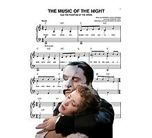 The Music of the Night - Phantom of the Opera Photographic Print