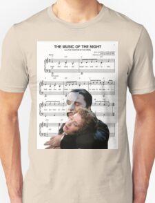 The Music of the Night - Phantom of the Opera T-Shirt