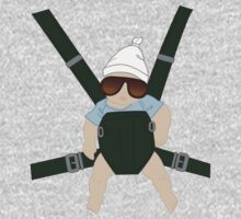 Hangover Baby Carlos in Carrier by Space Cadet