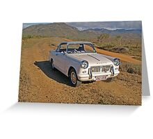Triumph Herald Coupe 1200 - 1963 Greeting Card