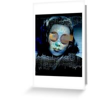PORTRAIT OF HER. Greeting Card