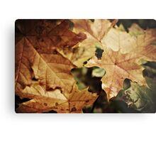 Fellowship of the leaf Metal Print