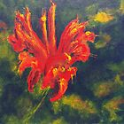 Fire Flower (acrylic) by Niki Hilsabeck