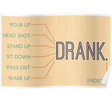 Drank. Poster