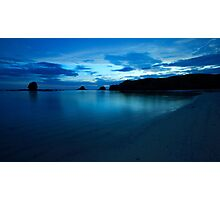 Blue Lagoon Photographic Print