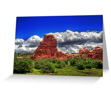 Summer in South Valley Greeting Card