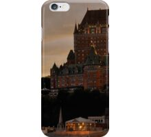 Fairmont Le Chateau Frontenac Quebec, Canada iPhone Case/Skin