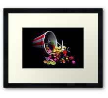 Pick 'N Mix Candy Framed Print