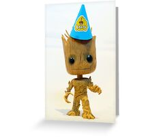 I am Party Groot Greeting Card