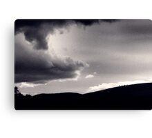 Heavy sky Canvas Print