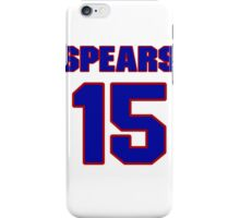 Basketball player Odie Spears jersey 15 iPhone Case/Skin