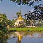 Myanmar. Somewhere in the Countryside. Stupa. by vadim19