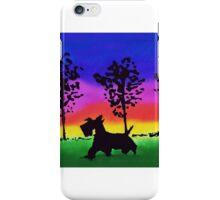Scottie Dog 'Rainbow Park' iPhone Case/Skin