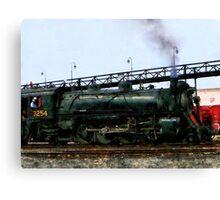 Steam Locomotive Canvas Print