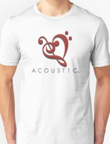 Acoust1c Heart T-Shirt
