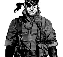 Metal Gear Solid Snake - Style by Solbessx